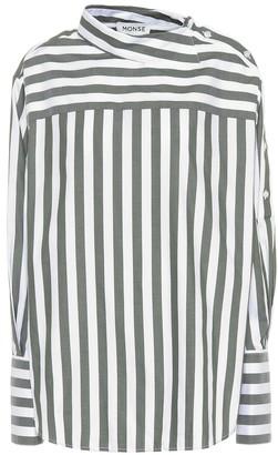 Monse Striped cotton top