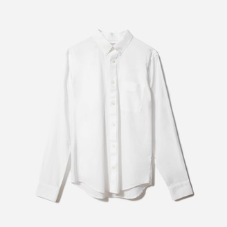 Everlane The Standard Fit Performance Air Oxford Long-Sleeve Shirt