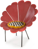 Mackenzie Childs MacKenzie-Childs Red Daisy Outdoor Chair