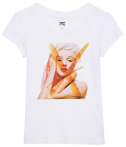 Thumbnail for your product : L'Agence Cory Graphic T-Shirt