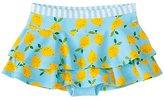 Girls Flounced Swim Skirt