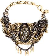 Erickson Beamon Crystal Multi-Strand Bracelet