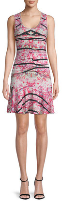 Nicole Miller Artelier A-Line Dress