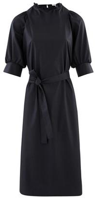 Atlantique Ascoli Midi dress in cotton