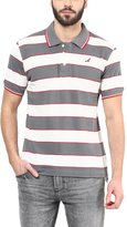 American Crew Men's Polo Collar Stripes T-Shirt -XL (AC83A-XL)