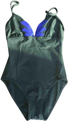 Eres Green Lycra Swimwear for Women