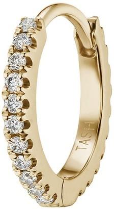 Maria Tash 18kt yellow gold diamond Eternity earring