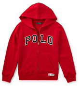Ralph Lauren Childrenswear Zippered Logo Hoodie