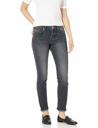 Hudson Women's Riley Crop Relaxed Straight 5 Pocket Jean