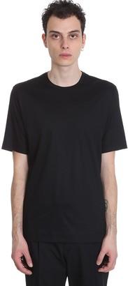 Ermenegildo Zegna T-shirt In Black Cotton