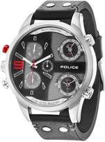 Police Copperhead Watch Schwarz/rot