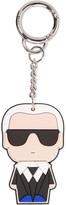 Karl Lagerfeld Pvc Keychain - Black