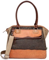 Thumbnail for your product : TSD BRAND Tapa Canvas Satchel Bag