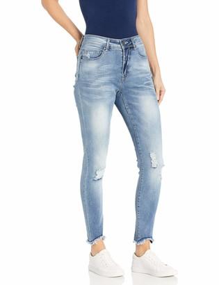 Lola Jeans Women's Plus Size Alexa Skinny Ankle