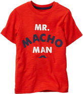 Carter's Macho Man Graphic Tee - Toddler Boys 2t-5t