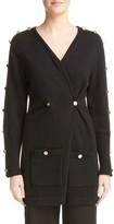 Loewe Women's Button Detail Wool Cardigan
