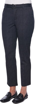 Wit & Wisdom Ab-Solution High Waist Ponte Knit Ankle Trouser