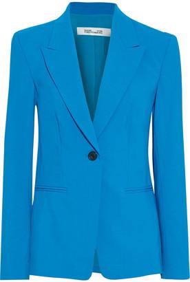 Diane von Furstenberg Heller Wool-blend Cady Blazer