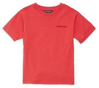 Balenciaga Little Kid's & Kid's Logo T-Shirt