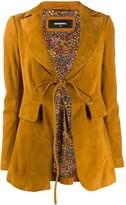 DSQUARED2 tie front blazer
