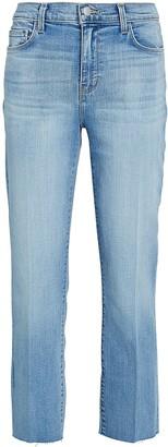 L'Agence Sada Slim Straight-Leg Jeans