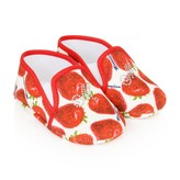MonnaLisa MonnalisaBaby Girls Red Strawberry Pre Walkers