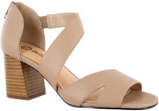 Bella Vita Block Heel Leather Sandals - Korrine