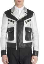 DSQUARED2 Leather Two-Toned Jacket