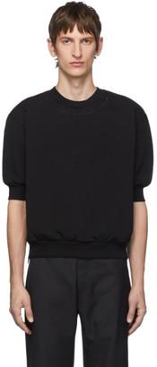 Random Identities Black Side Zipped Sweatshirt