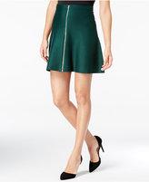XOXO Juniors' Zip-Front A-Line Skirt