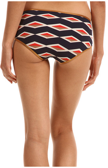 Marc by Marc Jacobs Hayley Stripe Bound Wrap Around Hipster Bottom