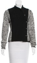Proenza Schouler Wool Double-Breasted Cardigan