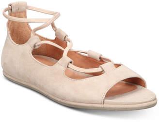 Gentle Souls by Kenneth Cole Women Lark Peep-Toe Flats Women Shoes