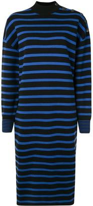 Stella McCartney Button-Detail Striped Sweater-Dress
