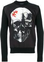 Philipp Plein skull print top - men - Polyester/Spandex/Elastane/Wool Felt - M