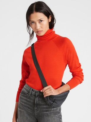 Banana Republic Merino Turtleneck Sweater in Responsible Wool
