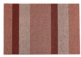 Chilewich Bold Stripe Shag Doormat, 18 x 28
