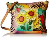 Anuschka Anna by Handpainted Leather Medium Convertible Tote