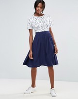 Minimum Midi Skater Skirt