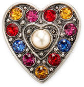 Marc by Marc Jacobs Jewelry Women's Pave Heart Brooch
