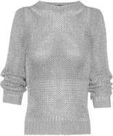 Shirlyn open-knit sweater