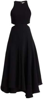 Cinq à Sept Belladonna Sleeveless Crepe Dress
