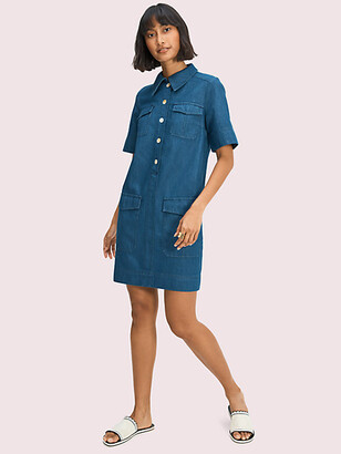 Kate Spade Denim Utility Shirtdress