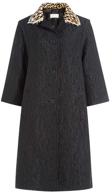 Maison Margiela Printed Coat with Silk