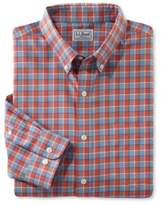 L.L. Bean Wrinkle-Free Kennebunk Sport Shirt, Slightly Fitted Check