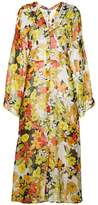 ATTICO floral print coat
