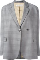 Golden Goose Deluxe Brand Prince of Wales check blazer