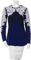 Stella McCartney Embroidered Long Sleeve Top