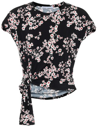 Paco Rabanne Floral top