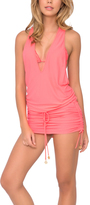 Luli Fama Pink T-Back Dress